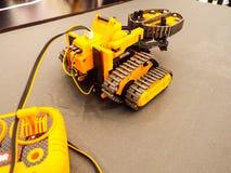 Robot multiuso Fotografie Stock Libere da Diritti
