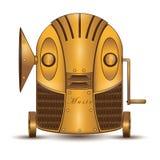 Robot musicale illustrazione vettoriale