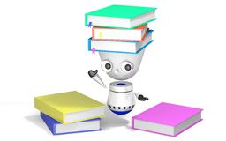 Robot nauka odpłaca się Fotografia Stock