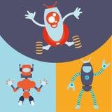 Robot och teknologidesign Royaltyfri Fotografi