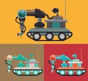 Robot och teknologidesign Royaltyfri Bild