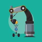 Robot och teknologidesign Royaltyfria Foton