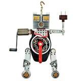 Robot od metal części Obraz Stock
