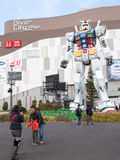 Robot in Odaiba Royalty Free Stock Photos