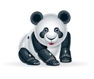 Robot panda cub Stock Photo