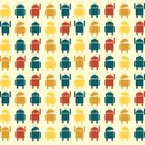 Robot pattern Stock Photography