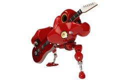 A robot playing a guitar Stock Photo