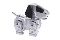 robot psia zabawka Zdjęcia Stock