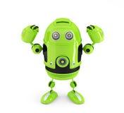 Robot puissant d'Android. Concept de technologie. Images libres de droits