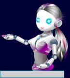 Robot. royalty free illustration