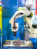 Robot ręka Fotografia Royalty Free