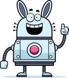 Robot Rabbit Idea Stock Photo