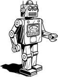 robot retro Obrazy Stock