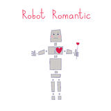 Robot romantic Stock Photos