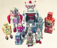 Robot rosso Immagini Stock Libere da Diritti