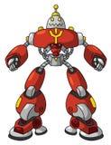 Robot rouge illustration libre de droits