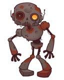 Robot rouillé de zombi Image libre de droits