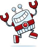 Robot Running Royalty Free Stock Image