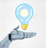 Robot's Idea Stock Photo