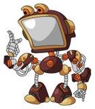 Robot Screen Royalty Free Stock Image