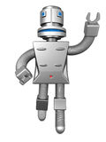 Robot services technology business concept. 3d illustration Royalty Free Stock Photography