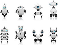 Robot set Royalty Free Stock Photos