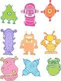 Robot Set Stock Images