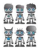 Robot set Royalty Free Stock Image