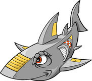 Robot Shark Vector Royalty Free Stock Photography