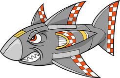 Robot Shark Vector Royalty Free Stock Photos