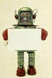 Robot sign Stock Photos
