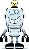 Robot Smiling Stock Image