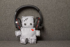 Robot Soft Toy. Royalty Free Stock Photography