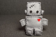 Robot Soft Toy. Stock Image