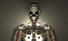 Robot soldier Stock Photo