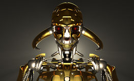 Robot soldier Royalty Free Stock Image