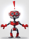 Robot sorprendido libre illustration