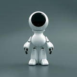 Robot in a spacesuit Royalty Free Stock Photo