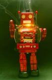 Robot sparkes Stock Image