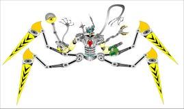 "Robot Spider â""–2 modernized stock images"