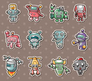 Robot stickers Stock Image