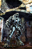Robot straniero Fotografie Stock