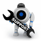Robot support Royalty Free Stock Photos