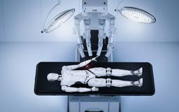 Free Robot Surgery Maintenance Ai Cyborg Royalty Free Stock Photography - 121909647
