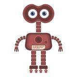robot sveglio del fumetto Fotografia Stock Libera da Diritti