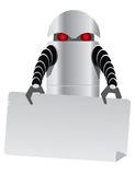 Robot tablet Royalty Free Stock Photo