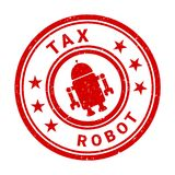 Robot tax Royalty Free Stock Photography