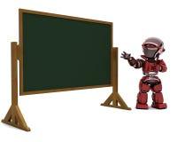 Robot Teacher In Classroom Stock Photos
