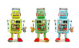 Robot team Royalty Free Stock Photos