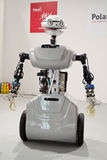 Robot technology. A remote controlled robot presented on the CeBIT 2013 fair in Hanover Stock Photos